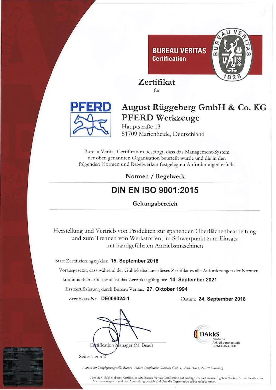 ISO9001:2015-Deutsch