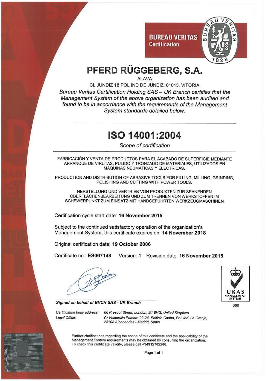 ISO14001-Spanisch